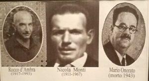 I tre isolani che parteciparono alla rivolta popolare (foto secondaria)