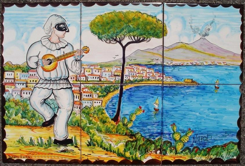 La napoli del 39 900 vista attraverso pulcinella ilgolfo24 for O giardino di pulcinella roma