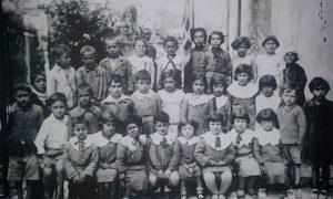 La scuola di un tempo dall'archivio dell'Ass. Ragazze Baranesi (foto quinta)