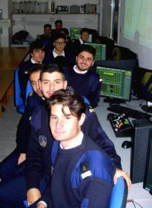 Allievi dell'IstitutoTrasporti e Logistica 'Mennella' (foto terza)