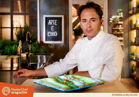 Nino Di Costanzo protagonista a Masterchef Magazine