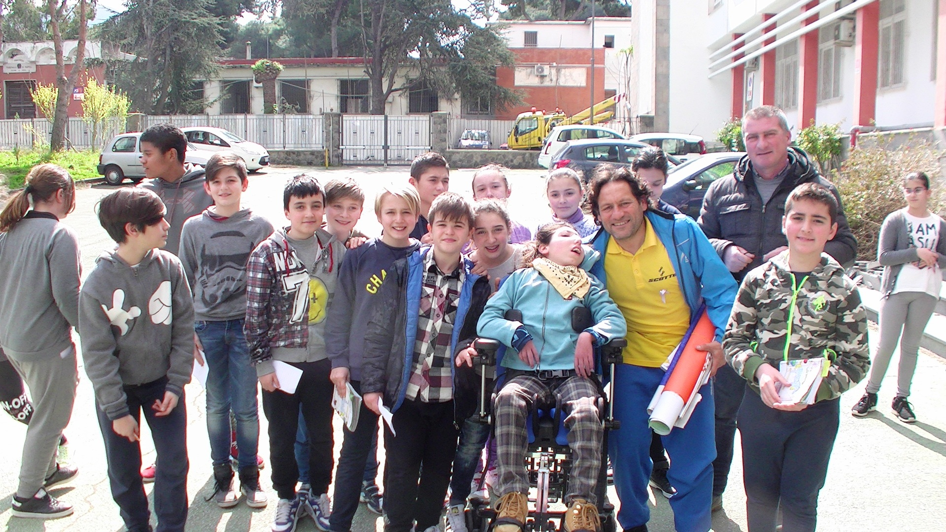 """Photo of Da Gianni Sasso lezione di vita agli studenti della """"Scotti"""""""