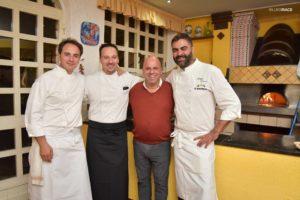 Con Nino Di Costanzo, Nello Calise ed Emanuele Mazzella