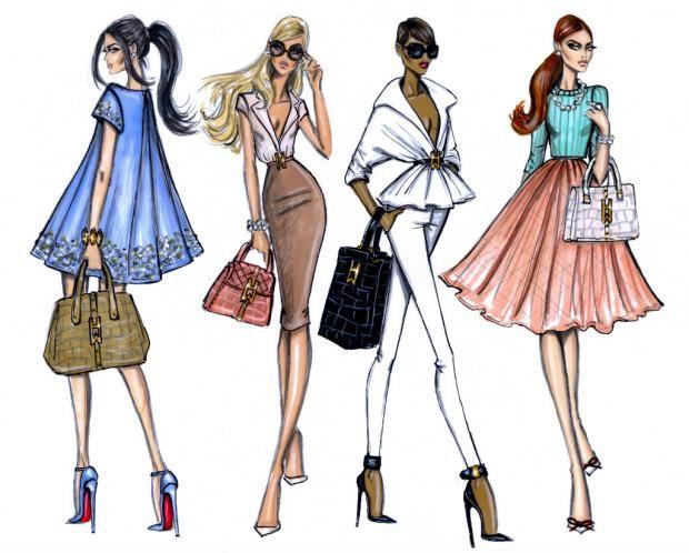 Procida casting testimonial settore moda ilgolfo24 for Dibujos de disenos de moda