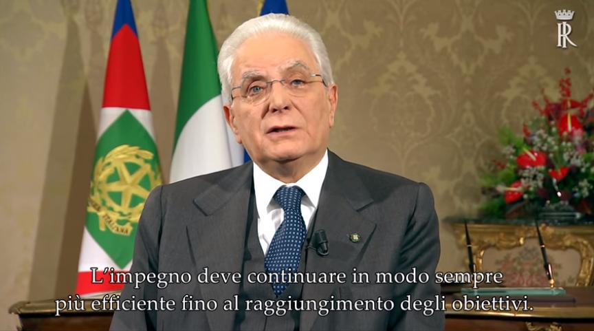 Photo of Discorso di fine anno, Mattarella ricorda i terremotati