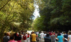 Nella chiesetta del Rotaro resistono il rito della via Crucis e i venerdì di Quaresima