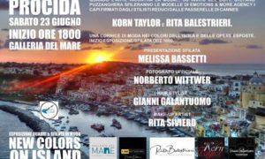 """Procida: """"New Colors on Island"""", da 23 giugno mostra presso la Galleria del Mare"""
