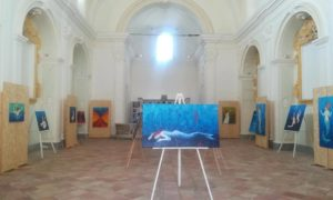 """""""Mare, abbracci e colori"""", mostra di Mariella Ridda a Santa Margherita"""