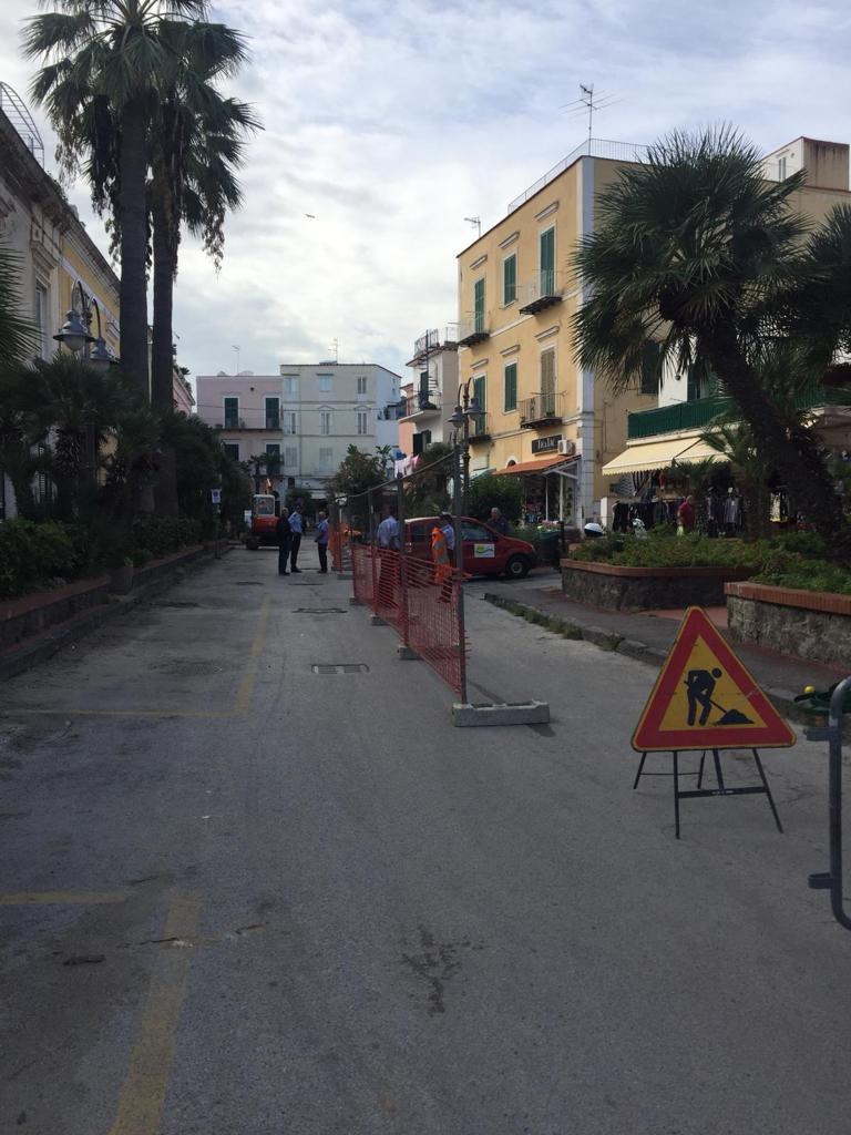 Photo of Ischia, ai via i lavori in via Francesco Buonocore