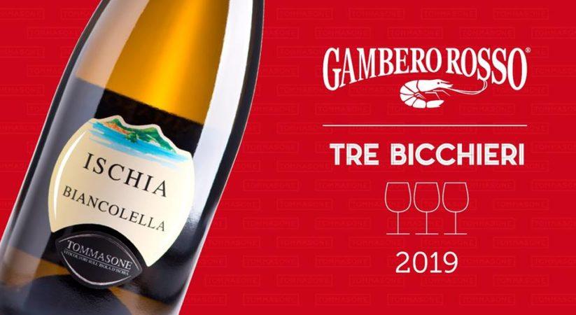"""<span class=""""entry-title-primary"""">""""Tre bicchieri"""" per il Biancolella di Tommasone</span> <span class=""""entry-subtitle"""">Il riconoscimento del Gambero Rosso alla casa vinicola ischitana, 23 le etichette campane premiate</span>"""