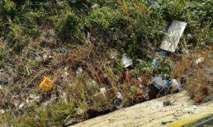 Belvedere di Campagnano, quando la vista è sui rifiuti