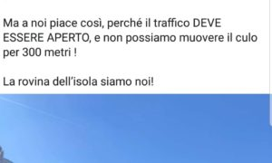 «Ischia Ponte aperta al traffico, una vergogna»: ma la moglie ha la delega alle isole pedonali!