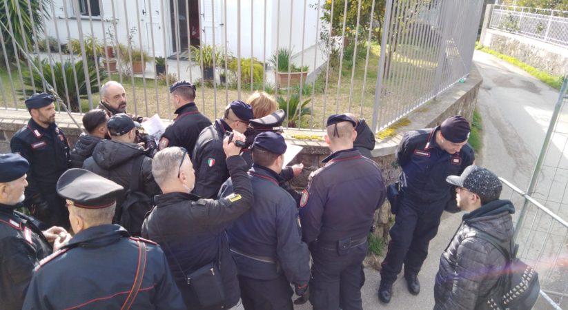 Documenti falsi per entrare allo stadio, tifoso giuglianese denunciato dai carabinieri