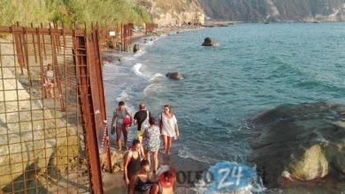 Photo of Smottamenti sulla spiaggia di Cava, colpa dei lavori?