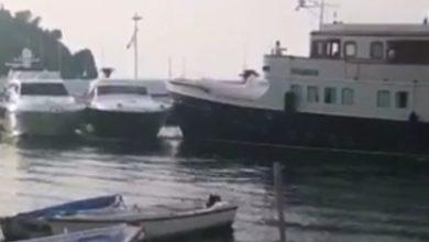 Photo of Lacco, entra nel porto e travolge altre barche
