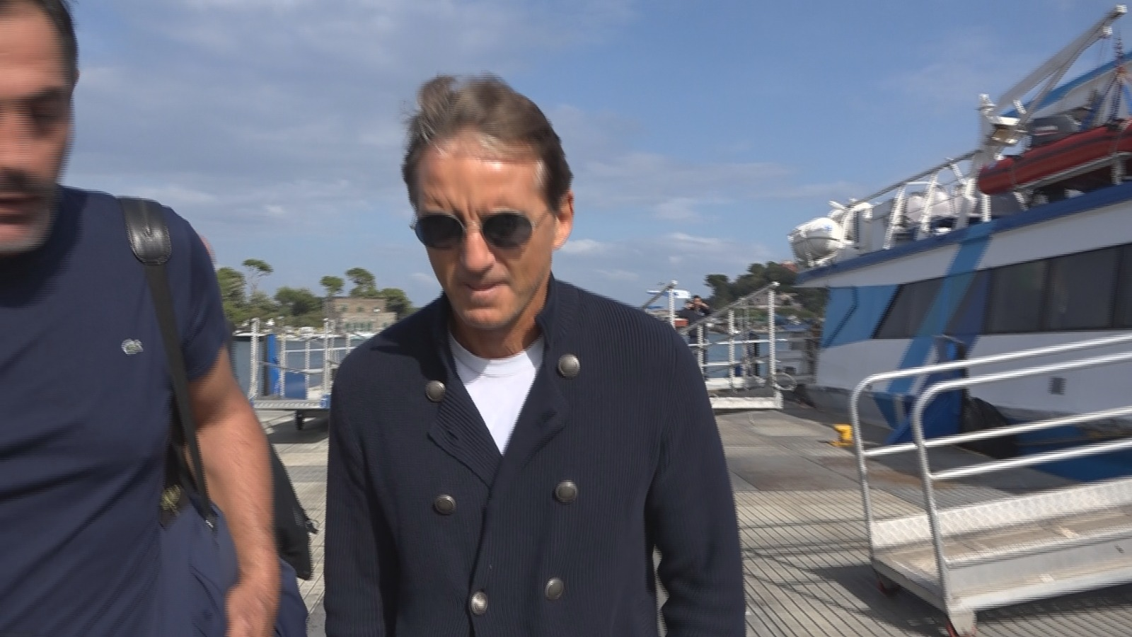 Mancini Dalla Nazionale A Ischia Per Un Weekend Di Vacanza