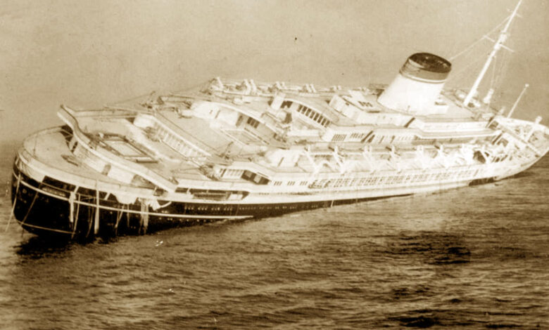 Naufragio dell'Andrea Doria