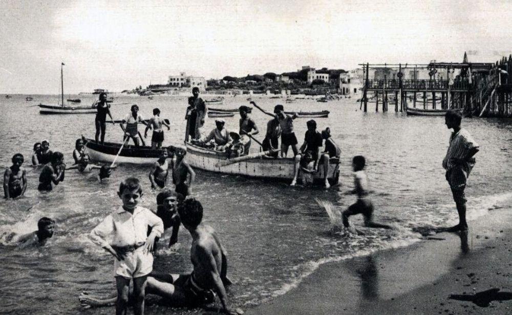 SPIAGGIA DI SAN PIETRO ANNI '30