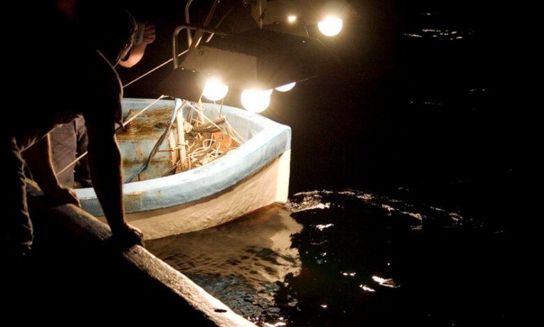 Pesca con lampara