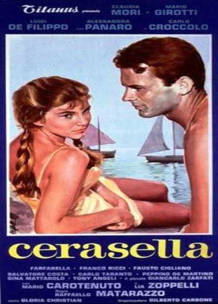 LOCANDINA DEL FILM CERASELLA DEL 1958