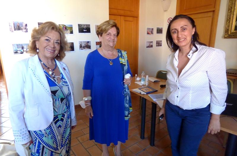 LUCIA D'AMICO VANNA DI MEGLIO E LUCIA ANNICELLI