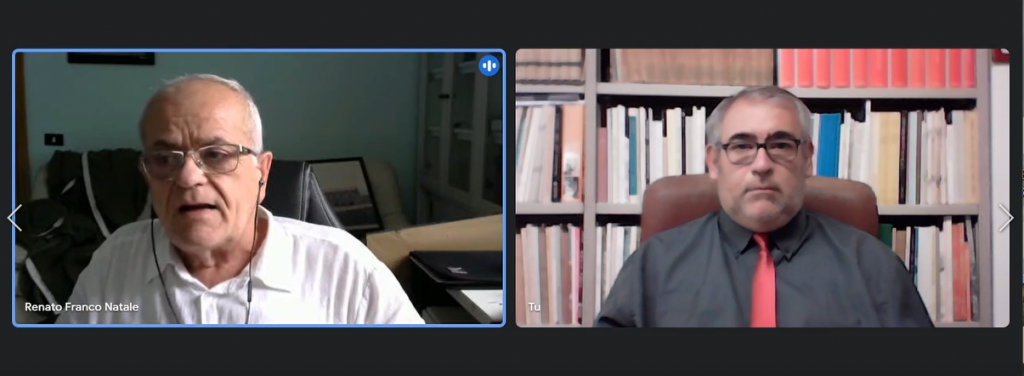 Il sindaco Renato Natale intervistato da Gennaro Savio