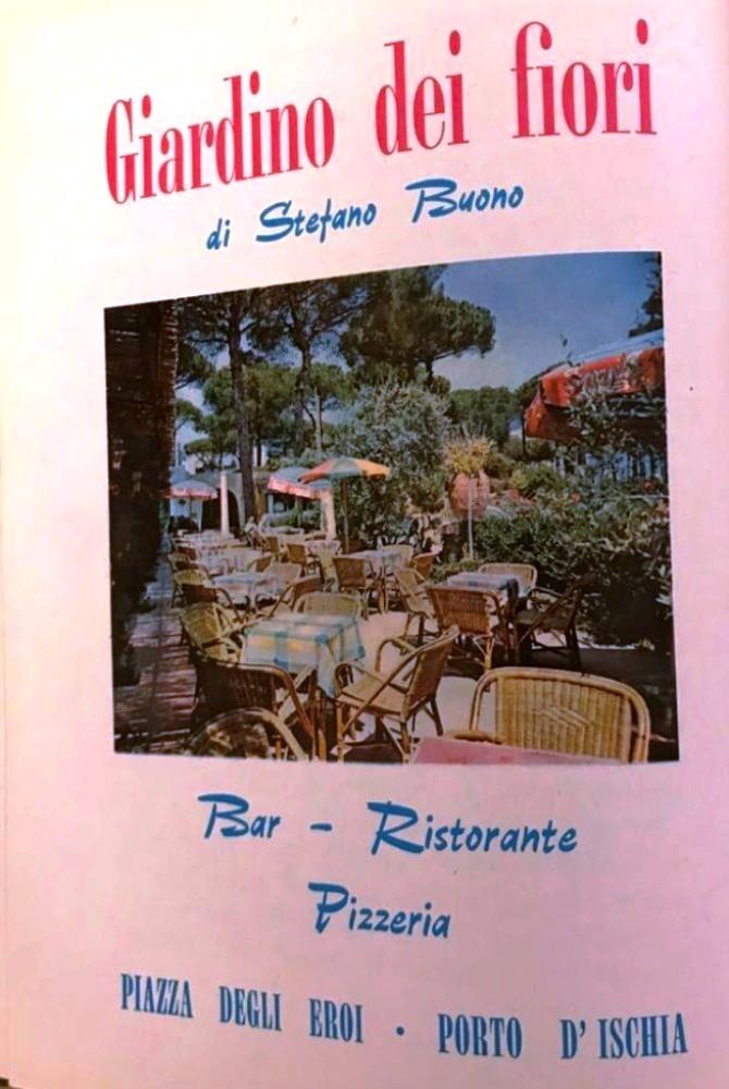 ANNO 1961 - IL GIARDINO DEI FIORI DI STEFANO BUONO A PIAZZA DEGLI EROI